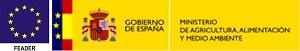 Logo FEADER y Ministerio de Agricultura, Alimentación y Medio Ambiente