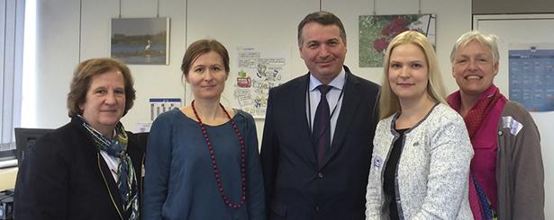 La Red Europea de Grupos de Acción Local ELARD se reúne con Mihail Dumitru, Director General Adjunto de la DG Agri, para analizar el futuro de LEADER +2020