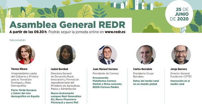 REDR celebra su Asamblea General 2020