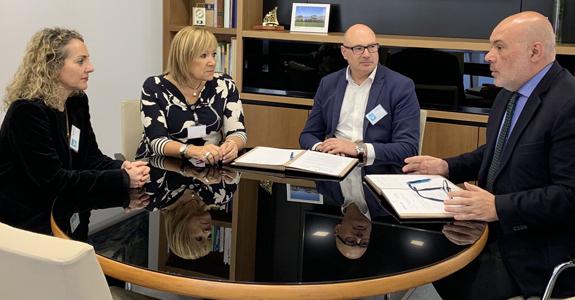 REDR firma un convenio de colaboración con ENUSA