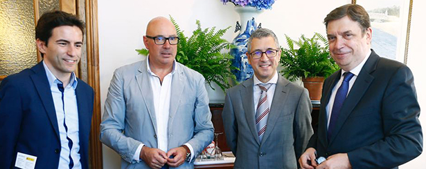 REDR se reúne con el Ministro de Agricultura, Pesca y Alimentación, Luis Planas, y con el Secretario de Estado de Medio Ambiente, Hugo Morán
