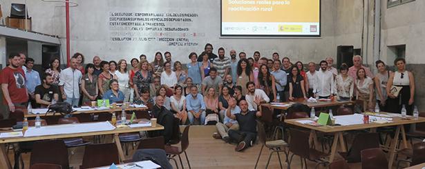 Más de 100 organizaciones se reúnen en Madrid para aportar soluciones que revitalicen el medio rural, en una Jornada impulsada por REDR