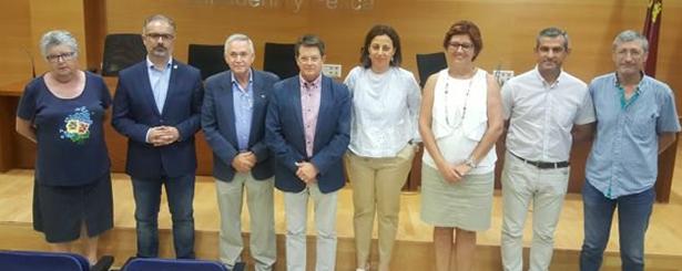 Los Grupos de Acción Local firman los convenios con el Gobierno de Murcia para el desarrollo del programa LEADER 2014-2020