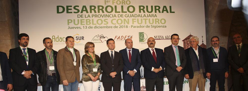 RECAMDER respalda el Manifiesto de Sigüenza para la supervivencia de los pueblos