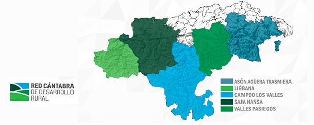 Se publican las ayudas y normas de gestión de los Grupos de Acción Local del Programa Leader de Cantabria 2014-2020