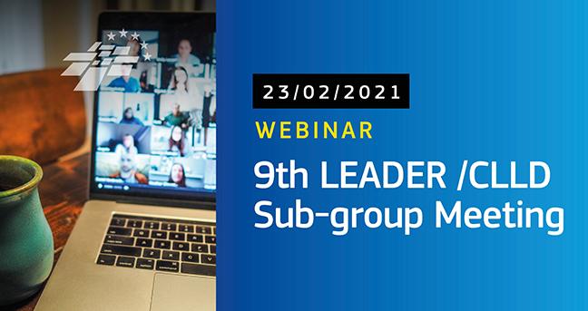 El Subgrupo LEADER nacional y el europeo analizan el futuro del enfoque hasta 2027