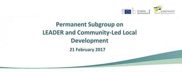 REDR participa hoy en Bruselas en la 4ª Reunión del Subgrupo Permanente LEADER y Desarrollo local Participativo de la Red Rural Europea