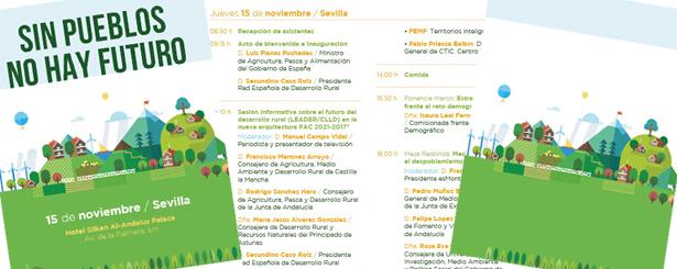 Sin pueblos, no hay futuro: Sevilla acoge este jueves un debate nacional sobre el papel de los territorios rurales organizado por REDR