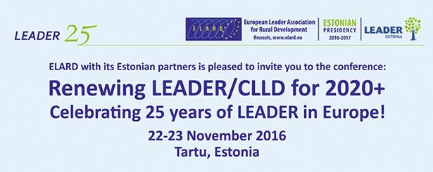 Conclusiones de la Conferencia ELARD sobre LEADER y Desarrollo Local Participativo (CLLD) a partir de 2020