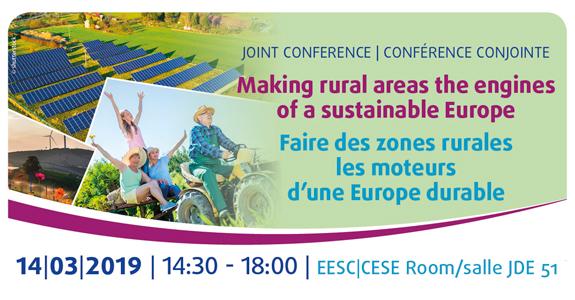 ELARD presenta al Comité Económico y Social Europeo y al Parlamento Rural Europeo una serie de medidas de renovación de LEADER/CLLD para el período de programación 2021-2027