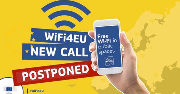 La Comisión Europea pospone la cuarta y última convocatoria Wifi4EU