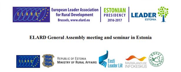 REDR participa en la Asamblea General de la Red Europea de Grupos de Acción Local ELARD que se celebra en Estonia