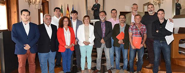 Los Grupos de Acción Local de Cáceres y Redex reciben 360.000 euros de la Diputación para avanzar en la estrategia de desarrollo local