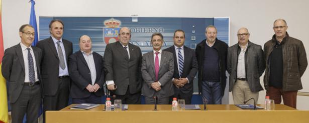 Los Grupos de Acción Local de Cantabria firman con el Gobierno cántabro los convenios para el desarrollo del programa LEADER 2014-2020