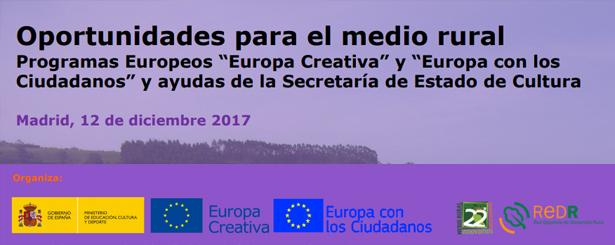 La Red Española de Desarrollo Rural analiza el papel de la cultura en el medio rural y cómo apoyarla a través de programas europeos