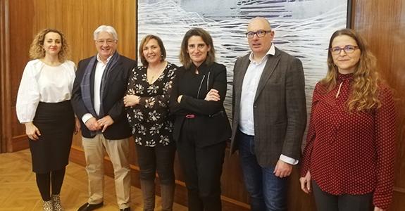 REDR mantiene la primera reunión con Teresa Ribera, ministra de Transición Ecológica y Reto Demográfico para coordinar acciones contra la despoblación