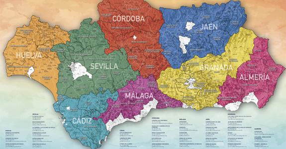 Andalucía publica la convocatoria de ayudas de cooperación LEADER de la submedida 19.3 del PDR Andalucía 2014-2020