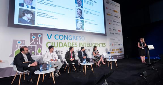 REDR presenta la plataforma de innovación SmartREDR y defiende el medio rural como un lugar de oportunidades en el V Congreso de Ciudades Inteligentes