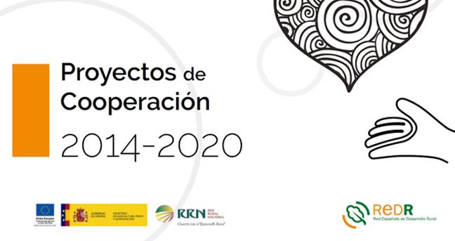 'Proyectos de Cooperación 2014-2020': REDR selecciona en una publicación Buenas prácticas puestas en marcha por los Grupos de Acción Local