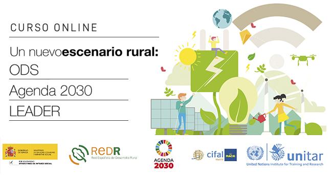 Naciones Unidas apoya el curso REDR 'Un nuevo escenario rural: ODS, Agenda 2030 y LEADER' que ya cuenta con más de 1.000 inscritos
