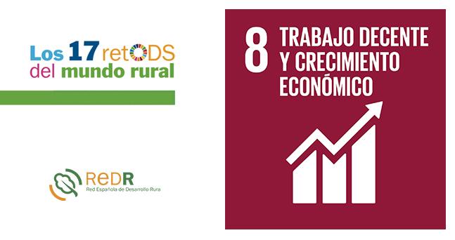 REDR lanza su boletín sobre el ODS 8 'Trabajo decente y crecimiento económico', dentro la campaña «17 retODS del mundo rural»