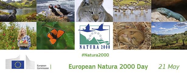 El Día Europeo de la Red Natura 2000 que se celebra este domingo ya es oficial en el calendario de la UE