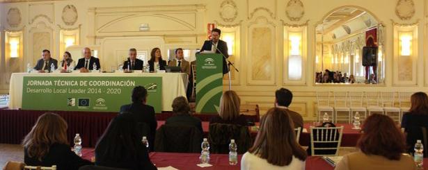 La Junta de Andalucía anima a los GDR a