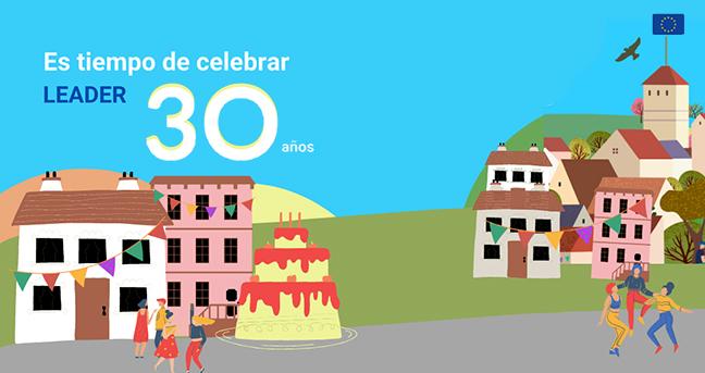 ELARD, la Red Europea de Grupos de Acción Local, lanza una campaña en redes sociales para visibilizar LEADER en su 30 aniversario